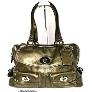 COACH Bleecker Archive Ltd. Ed. Metallic Satchel